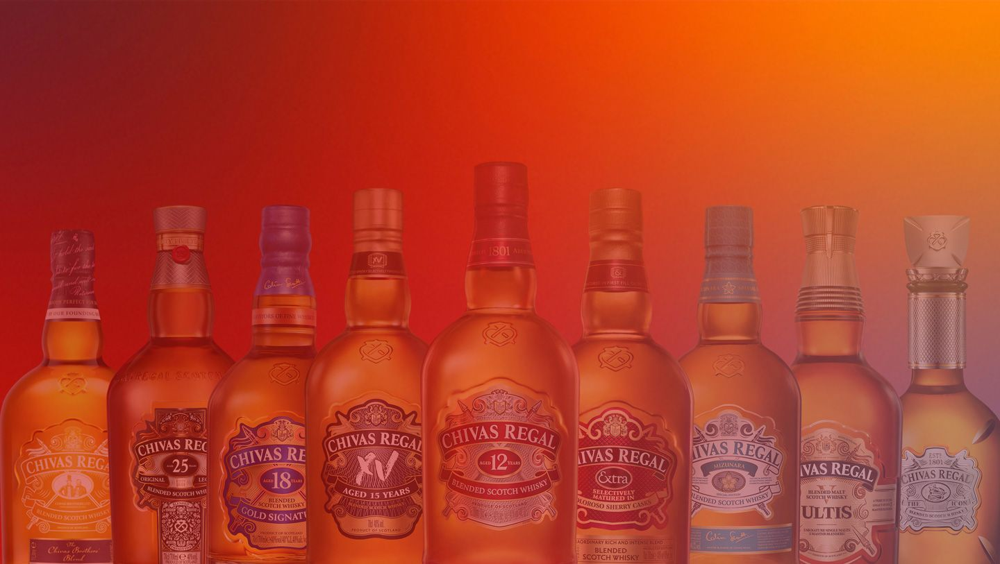 Chivas Regal Our Collection
