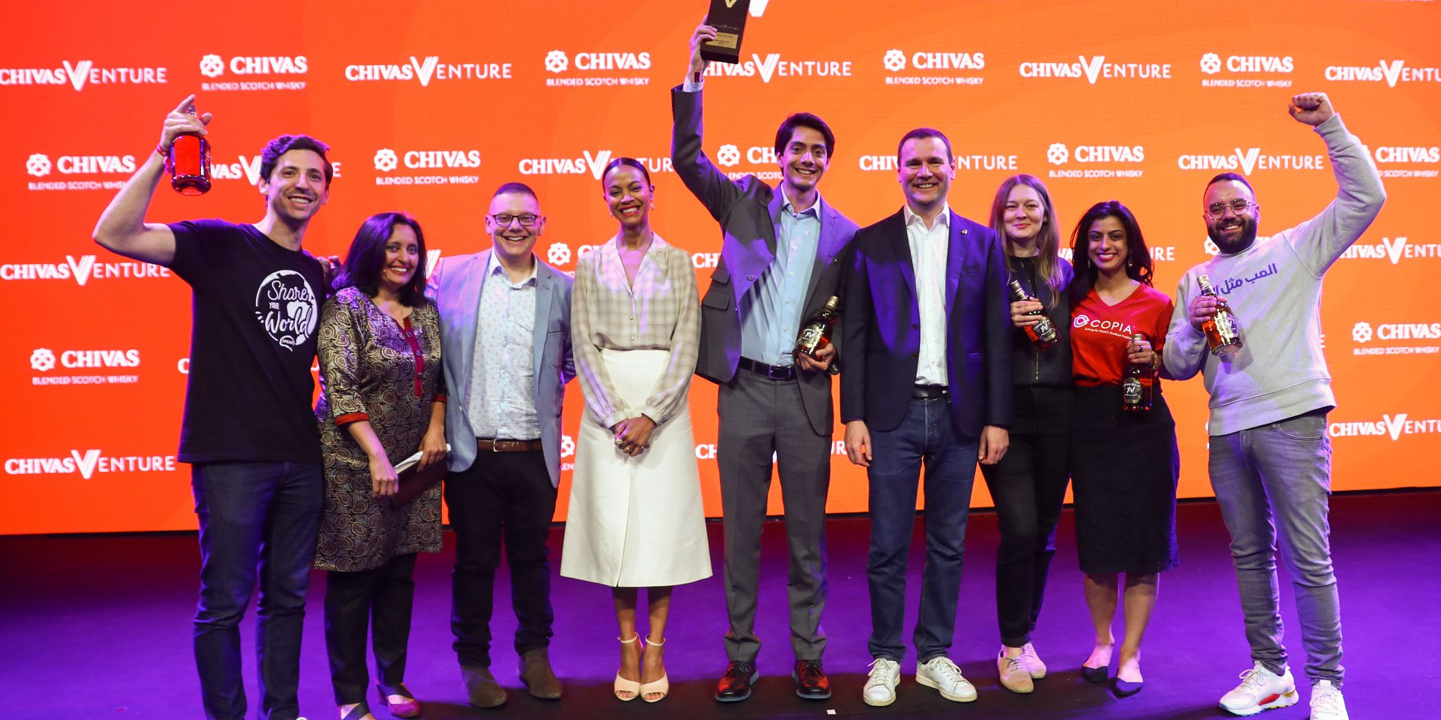 Xilinat crowned the winner of the 2019 Chivas Venture!
