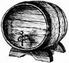 WHISKY CASK ILLUSTRATION