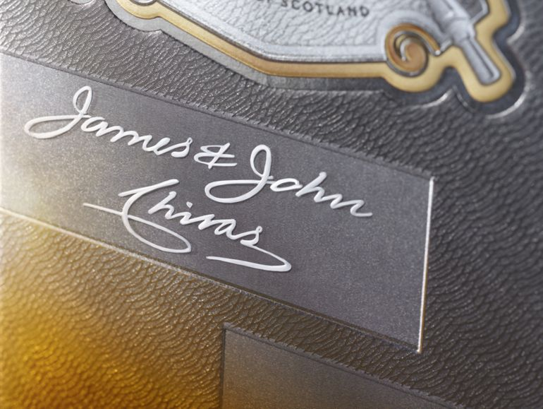 https://www.chivas.comTHE CHIVAS BROTHERS' NAMES, IN PRIDE OF PLACE ON WHAT THEY CREATED