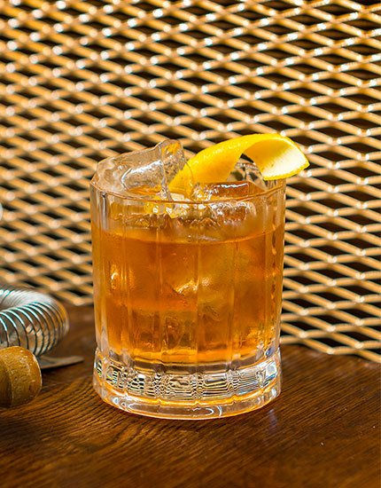 Forest Fruit Old Fashioned
