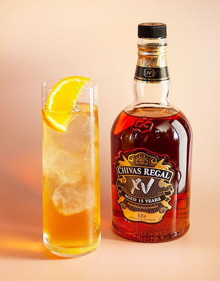 Spiced Apricot Highball