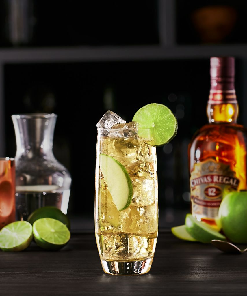 Chivas Collins Scotch Whisky Cocktail
