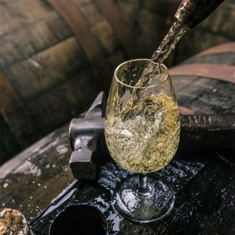 The Chivas cellar tasting