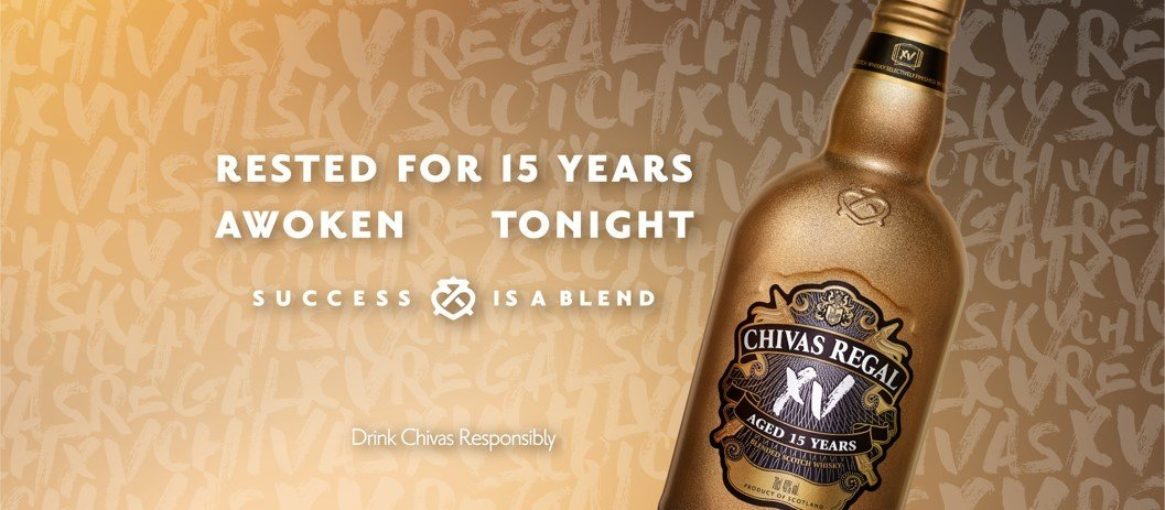 Chivas XV Blended Scotch Whiksy