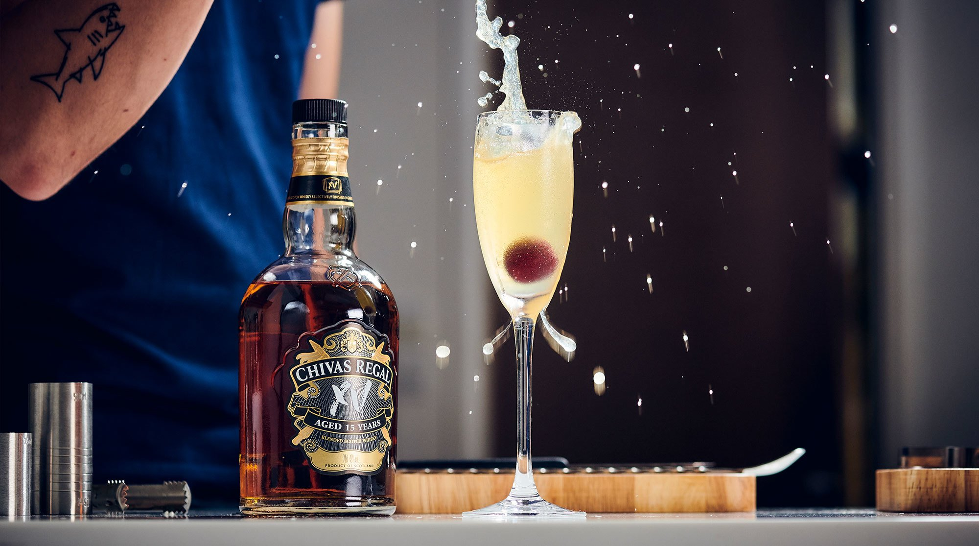 Chivas XV Chivas 75 Cocktail