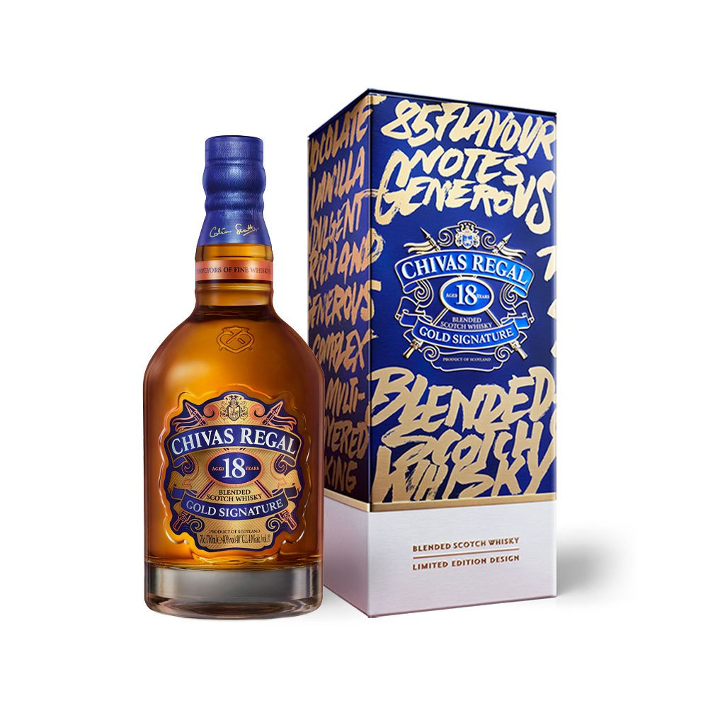 Chivas 18 Years Limited Edition