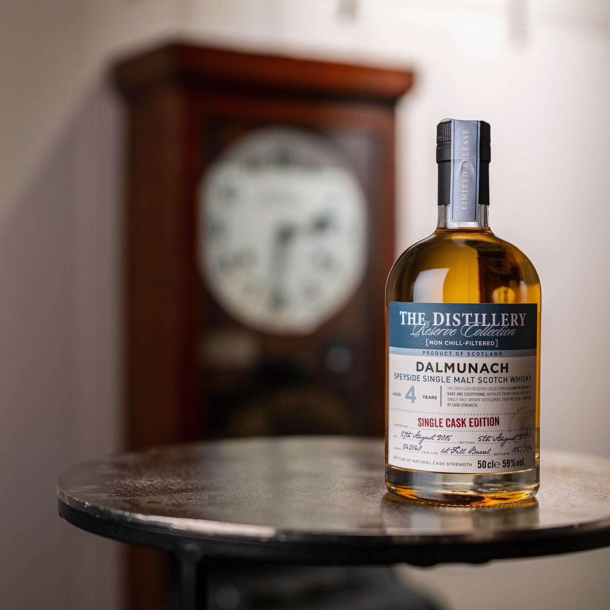 Dalmunach 4 Year Old Single Malt Scotch Whisky