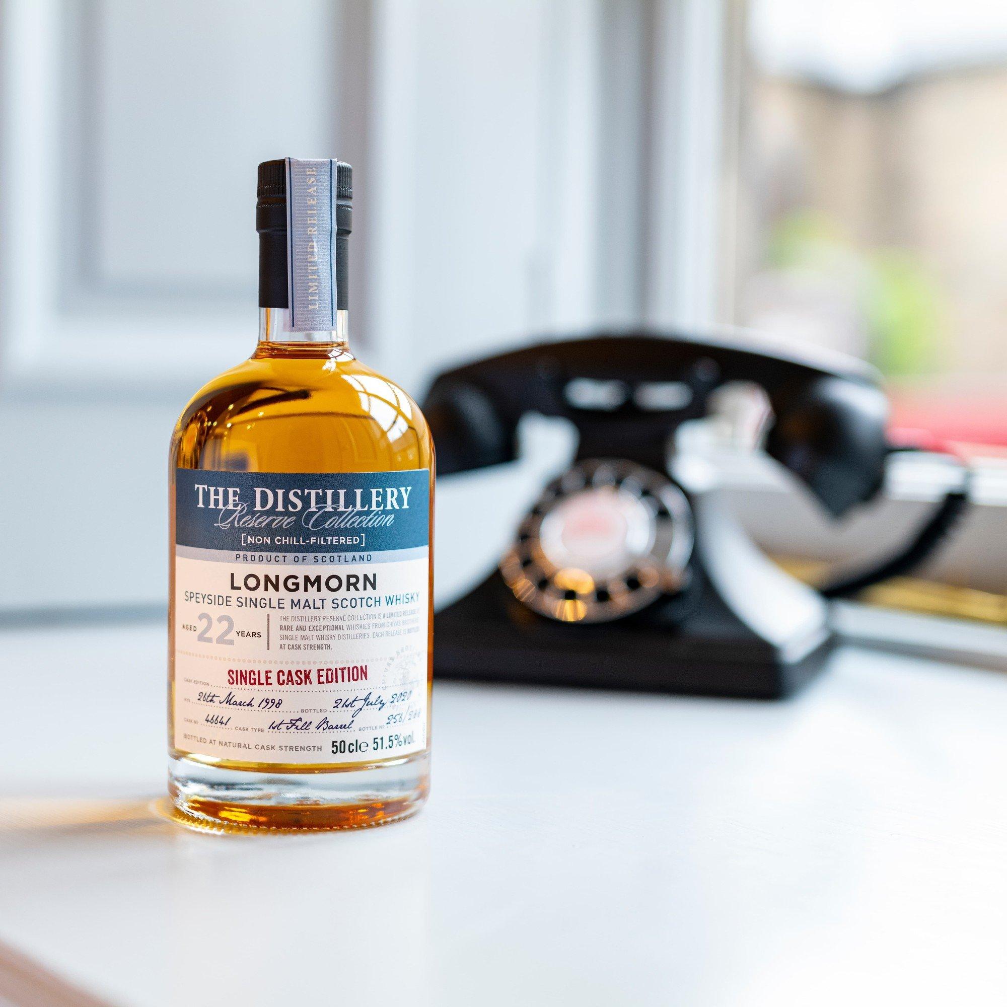 Longmorn 22 Year Old Single Scotch Whisky