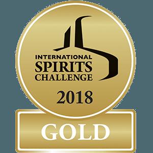 2018 – International Spirits Challenge  Gold