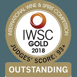 2018 – International Wine & Spirit Competition   Złoto