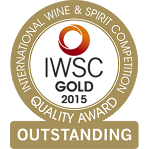 2015 – International Wine & Spirits Competition GOLD OUTSTANDING