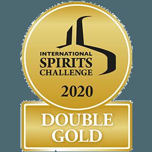 2020 – International Spirits Challenge DOUBLE GOLD