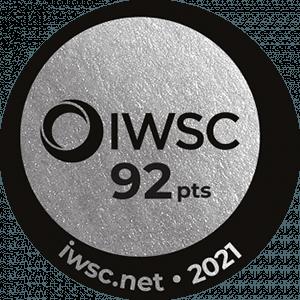 2021 – International Wine & Spirit Competition  Argent
