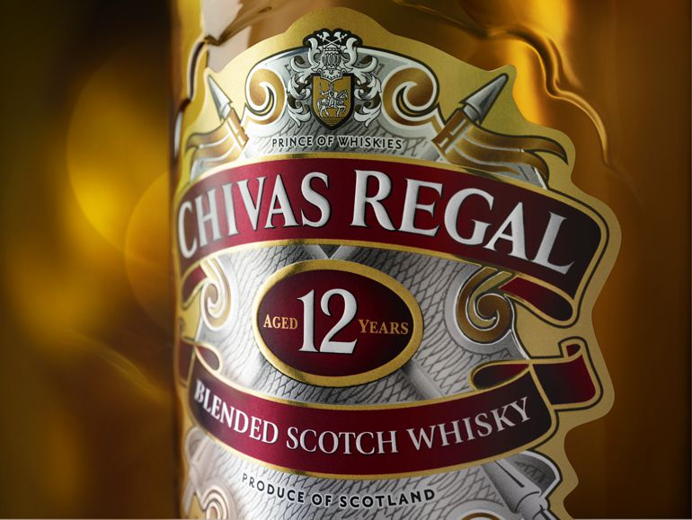 Unser Flaschenetikett repräsentiert Luxus und Großzügigkeit.